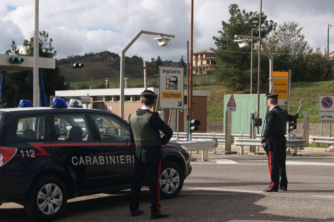carabinieri casello