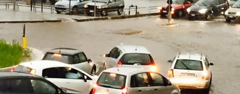 FOTO/ Nubifragio in Irpinia: oltre 21 mm di pioggia in pochi minuti.