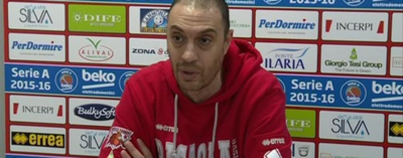 """Sidigas Avellino, Esposito lancia l'allarme: """"Pistoia ad Avellino in piena emergenza, sarà dura"""""""