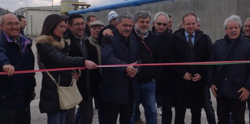 Consorzio Asi, inaugurato l'impianto di depurazione di Calitri