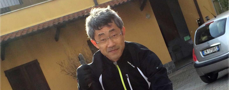 Giro 2015, incidente in corsa: ferito il fotografo giapponese Yuzuru Sunada