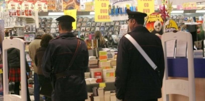 Monteforte: furto al supermercato, arrestato con quasi 500 euro di prodotti rubati