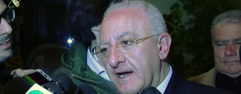 """De Luca si difende dalle accuse: """"Noi parte lesa. Consueto massacro mediatico"""""""