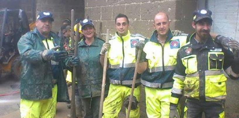 Gli operatori A.T.A.P.C. di Prata di Principato Ultra in azione a Benevento