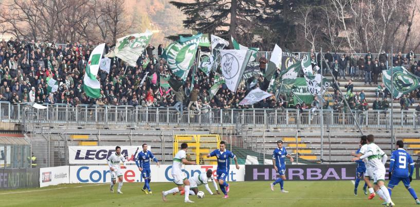 Avellino Calcio – Trecento tifosi al Rigamonti. Malumore tra la tifoseria bresciana