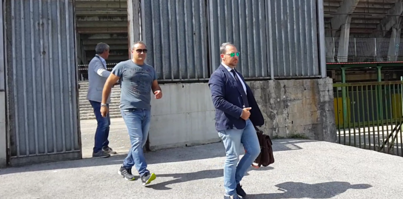 Avellino Calcio – Sopralluogo allo stadio: la Terminio verso il dissequestro