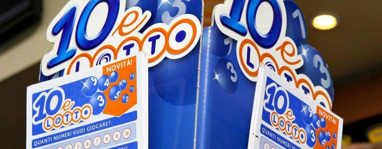 10 e Lotto, a Monteforte Irpino vincita di 10mila euro