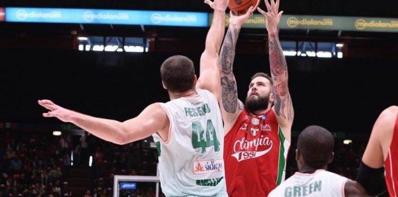 Basket – E' la Sidigas delle altalene, Fesenko e Thomas la prova