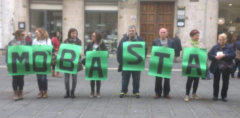 """Inquinamento Valle del Sabato: sit-in in Prefettura. Mazza: """"Mo' Basta, intervenga la Regione"""""""