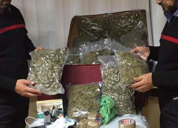 Maxi sequestro di stupefacenti ad Avellino, arrestato narcos albanese: era in possesso di droga per circa 1 milione di euro