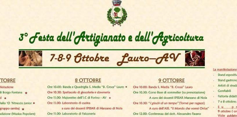 Festa dell'Artigianato e dell'Agricoltura a Lauro