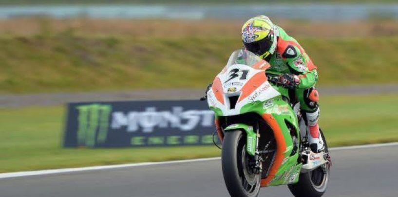 Vittorio Iannuzzo in 20^ posizione all'11° Round del MCE British Superbike
