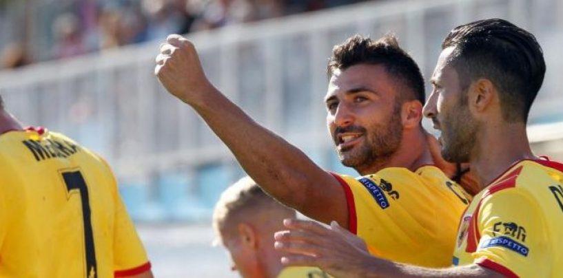 Ceravolo decide ancora: il Benevento supera il Cittadella