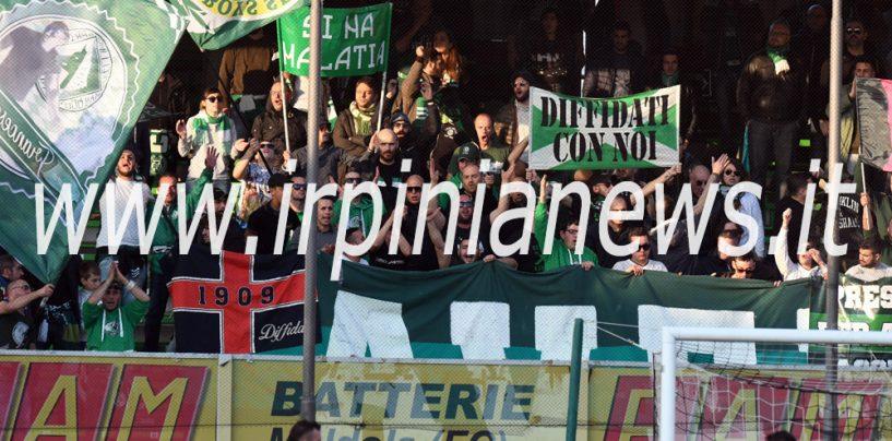 Avellino Calcio – Tifosi, svolta in trasferta: a Cesena senza Tessera