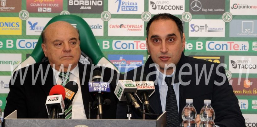 Avellino Calcio – Gubitosa di nuovo al fianco di Taccone