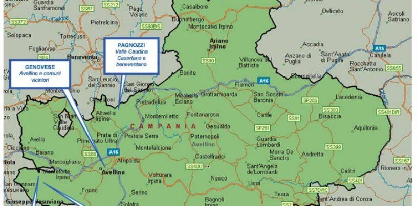 Le mani dei clan sull'Irpinia: l'Antimafia disegna la mappa della criminalità