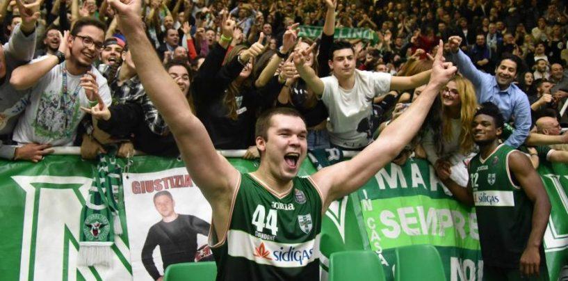 Sidigas Avellino, la fotogallery del successo sull'Olimpia Milano