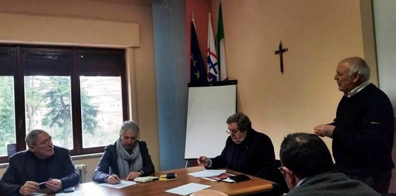Il Presidente nazionale delle Acli, Roberto Rossini, ospite presso la sede di via De Renzi