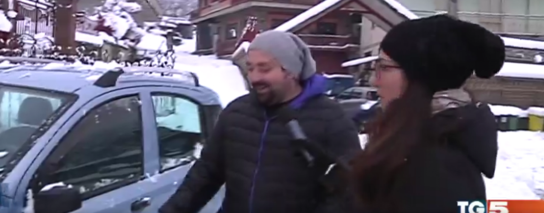 VIDEO/ Il TG5 si occupa dell'emergenza neve in Irpinia
