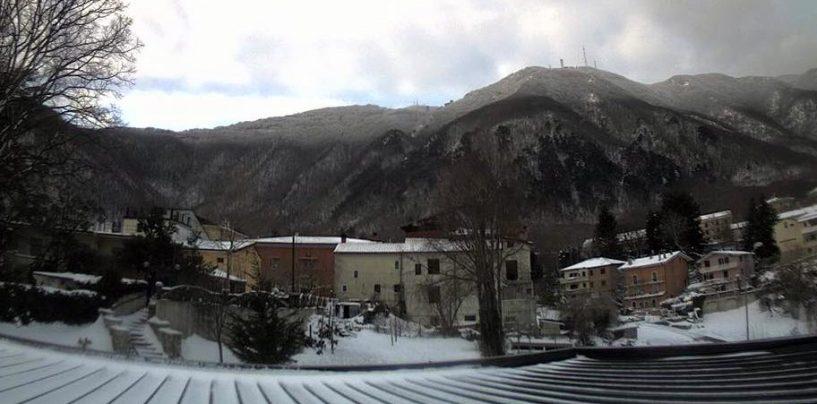 Avellino, mai così freddo a Montevergine dal 1963