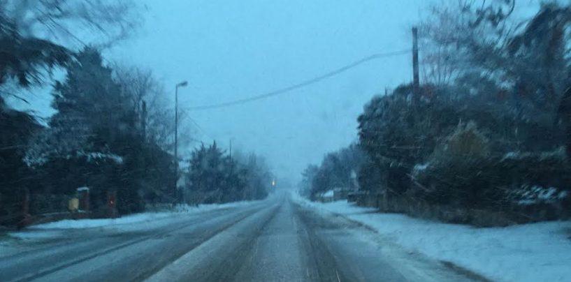Emergenza neve, istituita l'Unità di Coordinamento per gli interventi sulle strade provinciali