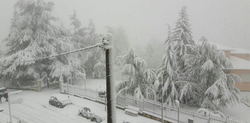"""La Protezione Civile: """"Neve e gelo fino a lunedì"""""""