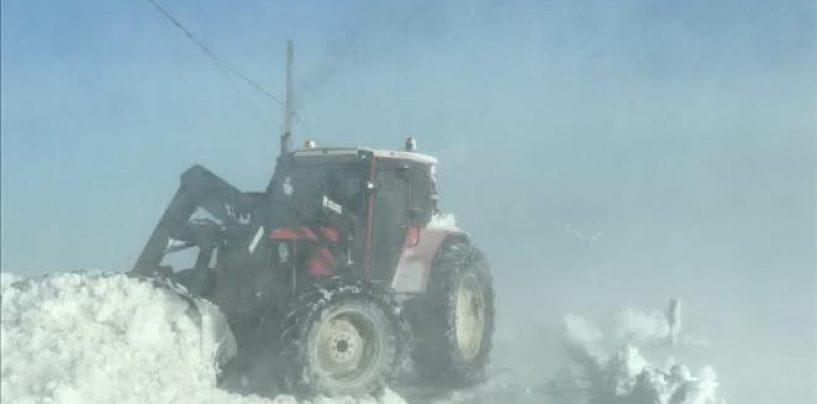Emergenza neve, Lacedonia e Monteverde completamente isolati