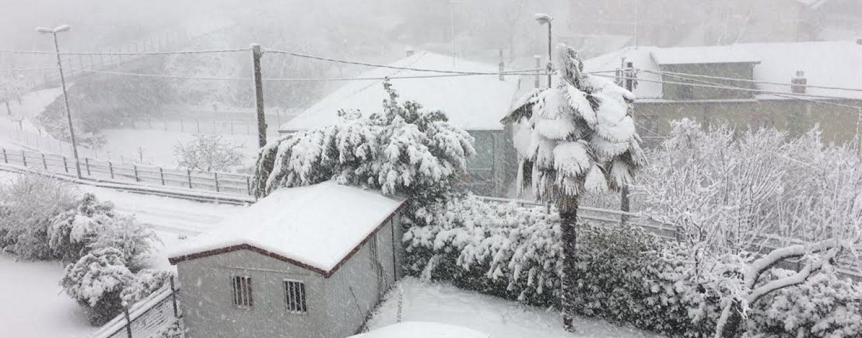Allerta neve in alta Irpinia, chiusa autostrada: Coldiretti mette a disposizione trattori