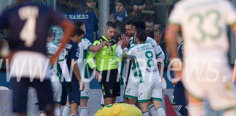 Avellino Calcio – Un fischietto portafortuna a Cesena