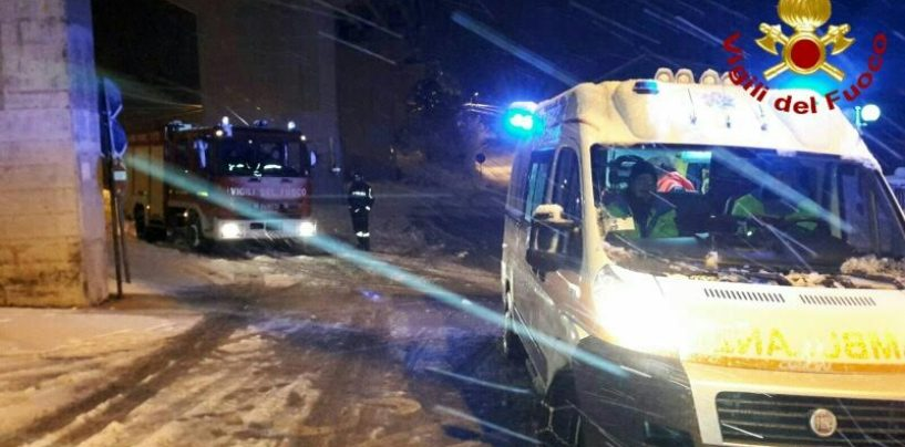 Dramma nella gelida notte di Avellino, 65enne trovato morto