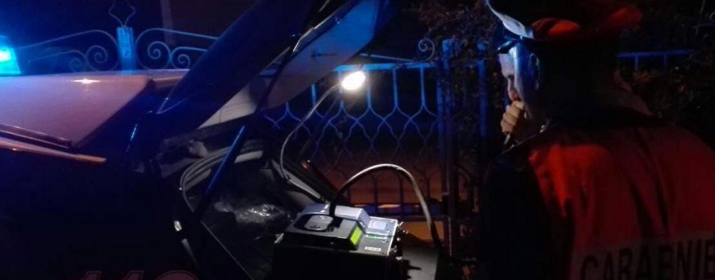 Di notte ubriaco alla guida: scatta denuncia, ritiro della patente e raddoppio della sanzione