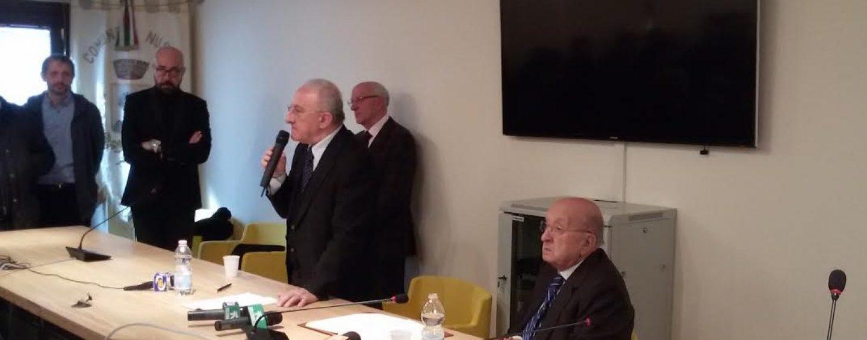 Europa, Campania e Mezzogiorno: faccia a faccia tra De Luca e De Mita a Cesinali