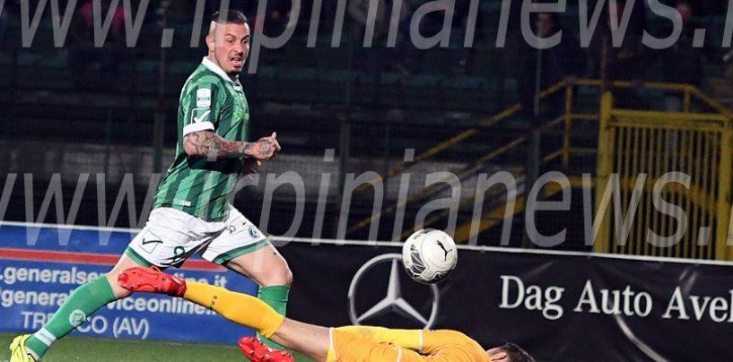 "SALA STAMPA/ Eusepi rilancia l'Avellino: ""Vittoria fortemente voluta"""
