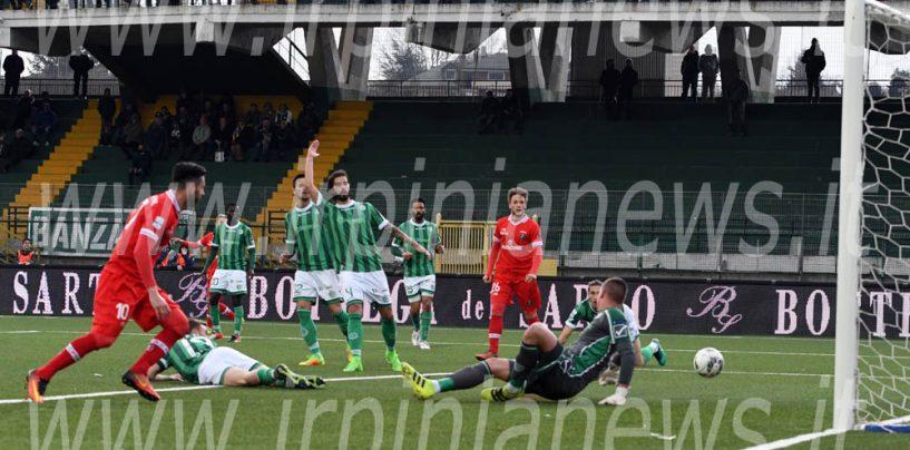 L'Avellino perde la testa: il Perugia passeggia al Partenio. Rivivi il live