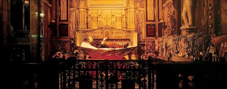 Montevergine celebra San Domenico Savio, esposta l'urna del santo bambino