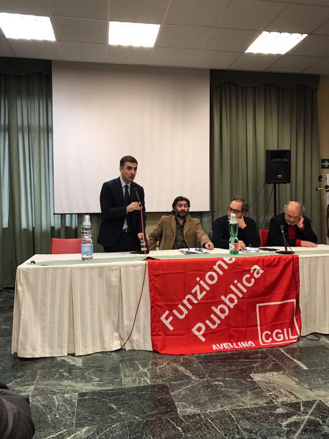 Fp Cgil – Dibattito sulla Sanità ad Avellino