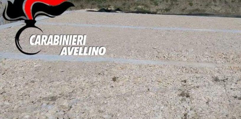 Rocca San Felice, abuso edilizio in territorio vincolato idrogeologicamente: una denuncia