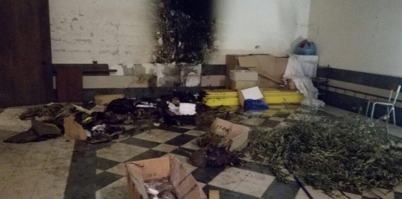Fiamme in una chiesa di Cervinara: a fuoco il presepe