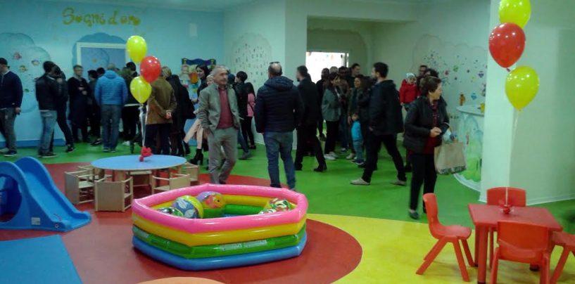 Inaugurato il nuovo asilo nido a Montecalvo Irpino