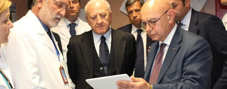 """De Luca: """"Supporteremo Pineta Grande Hospital nel progetto di ampliamento"""""""