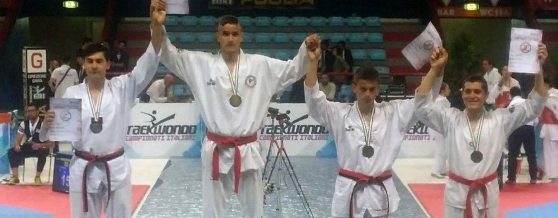Taekwondo, Dimitri Marotti del team Saldutto è campione italiano