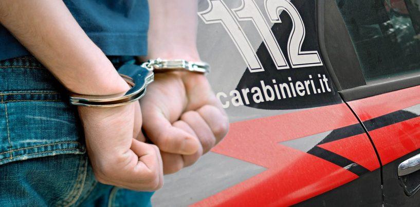 Arrestato dopo un pericoloso inseguimento, torna in carcere un pregiudicato calabrese
