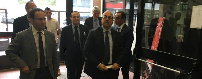 Il sottosegretario Cesaro in visita al Conservatorio di Avellino