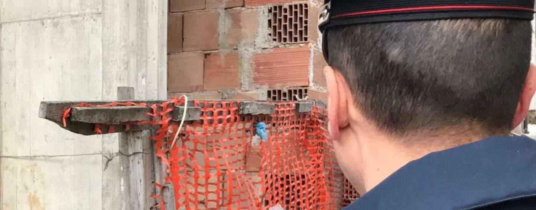 Lavoro nero, cantiere sospeso ad Altavilla Irpina