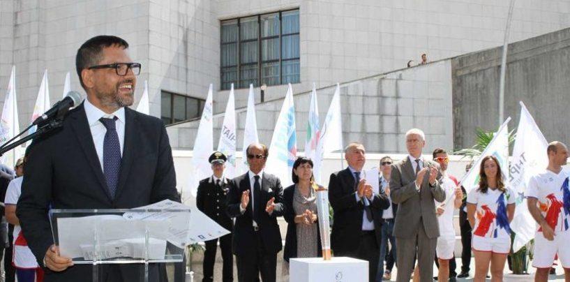 Universiadi, al campus di Fisciano arriva la Torcia di Taipei
