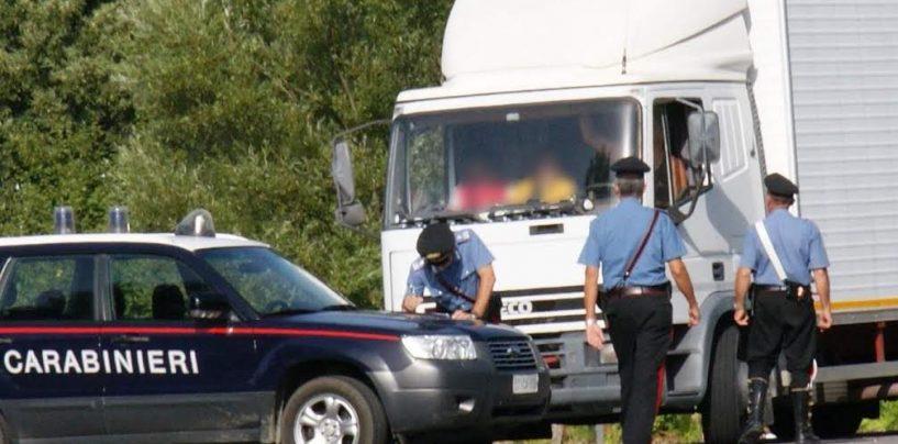 Denunce e patenti ritirate in Alta Irpinia: gli interventi dei carabinieri