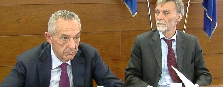 A Frigento l'ex ministro Delrio con Famiglietti e Del Basso De Caro