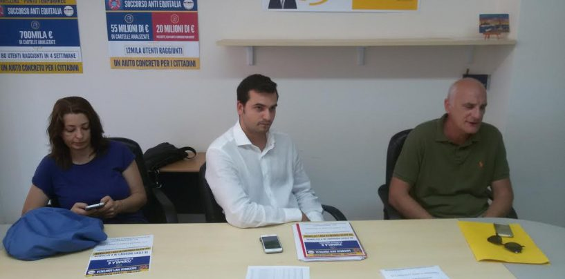 """Sos Equitalia Avellino, i cinquestelle a sostegno dei cittadini: """"In crisi anche attività floride"""""""