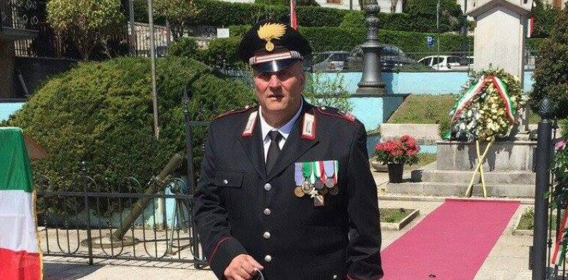 Mercogliano e l'Irpinia piangono Ernesto Primo, consigliere comunale e luogotenente dei Carabinieri