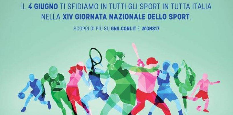 Anche il CONI di Avellino aderisce alla XIV Giornata nazionale dello sport